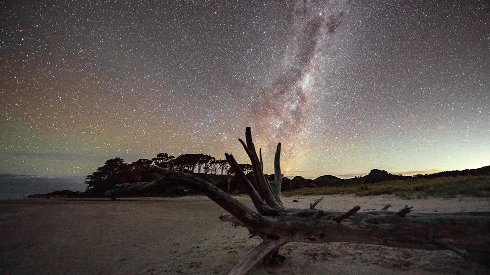 Pakiri Beach - Milky Way - North Island - New Zealand