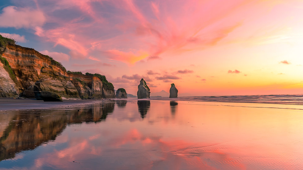 The Three Sisters - Taranaki - New Zealand