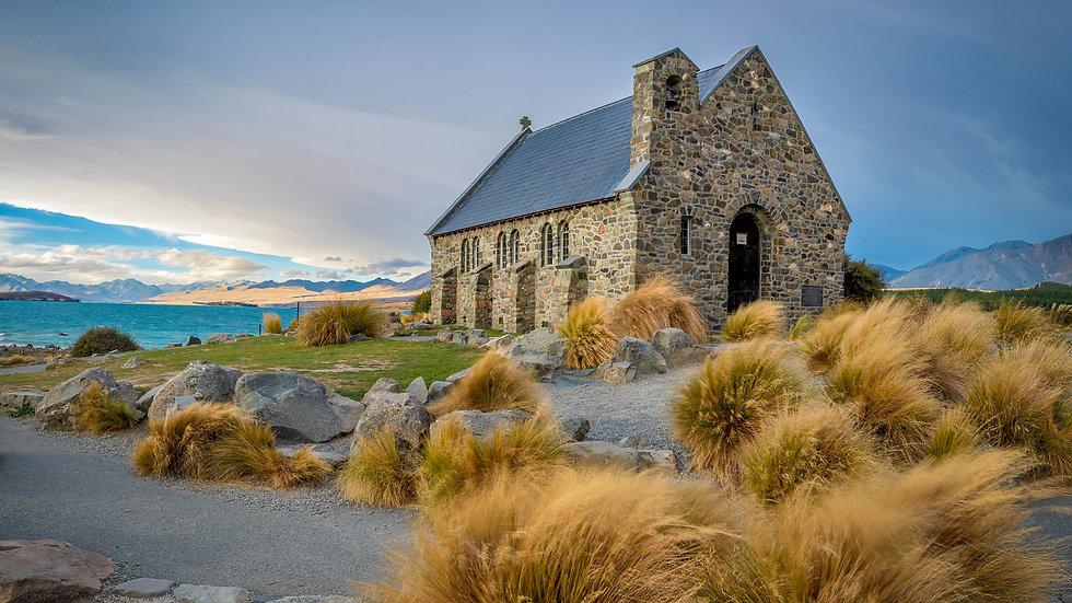 Tekapo - Church Of The Good Shepherd