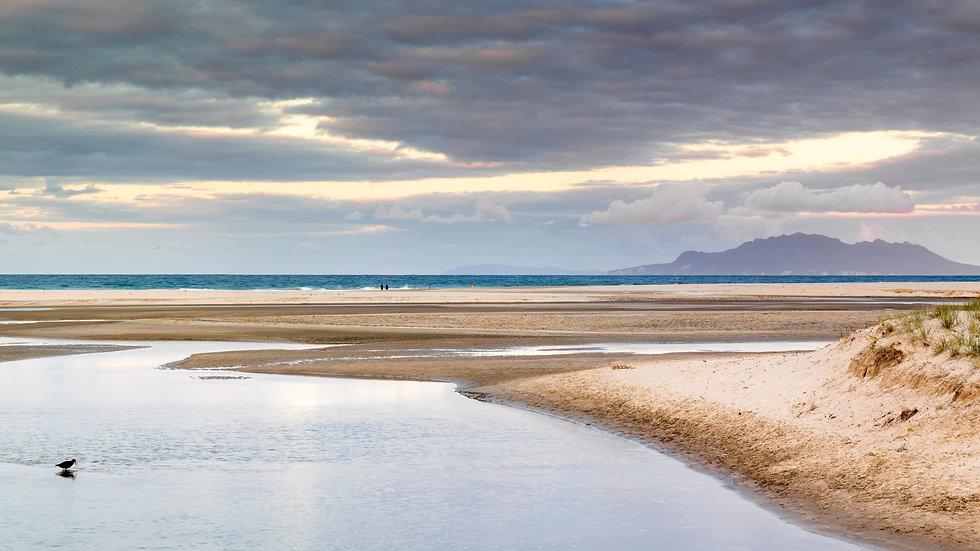Pakiri Beach - North Island - New Zealand Panorama