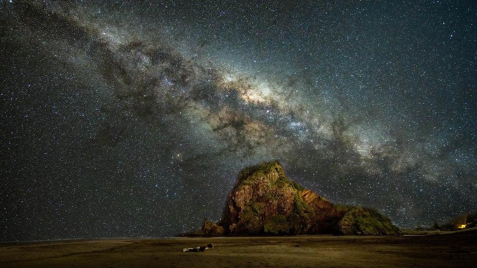 Piha Beach - Milky Way