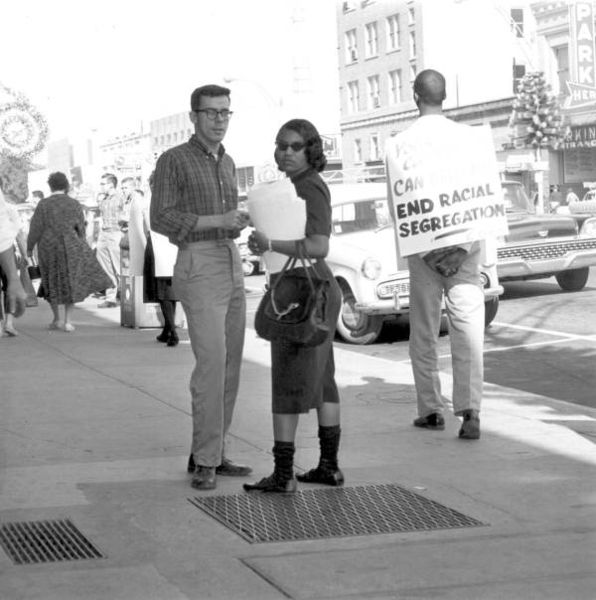 596px-Bill_King_and_Patricia_Stephens-Boycott_and_picketing_of_downtown_stores_Tallahassee,_Florida