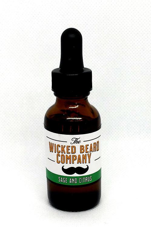 Citrus and Sage Beard Oil