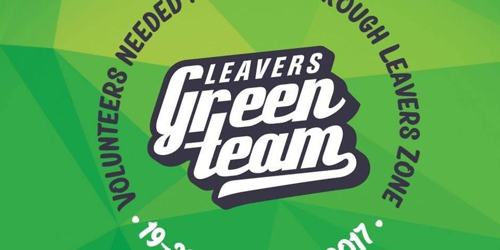 Leavers Green Team 2017