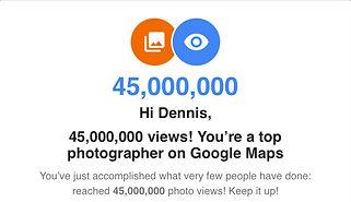 Google maps photo views