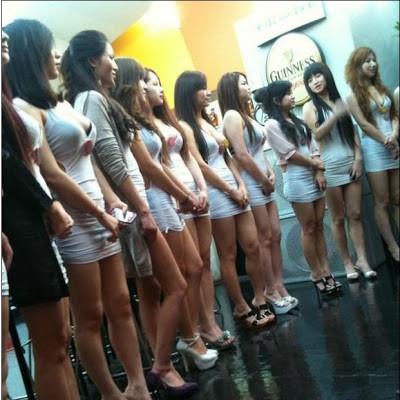 태국 황제 투어 밤문화 정보 여자사진2