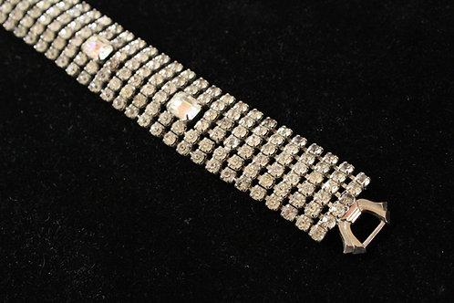 50s Signed Weiss Rhinestone Bracelet