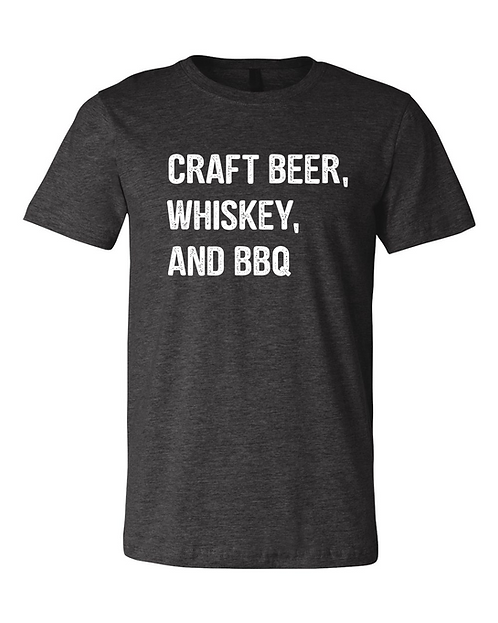 Craft Beer Whiskey and BBQ