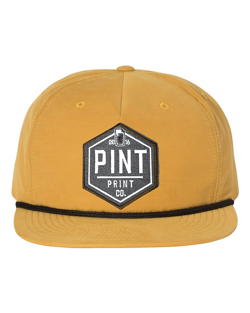 PINT Print Co Patch Hat