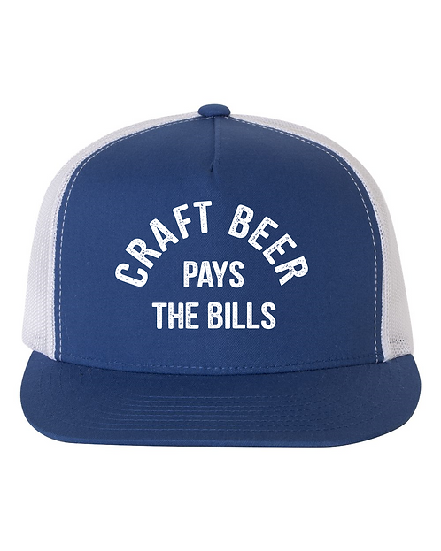 Craft Beer Pays the Bills Hat