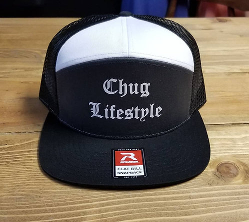 Chug Lifestyle 7 Panel Hat