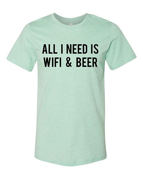WiFi & Beer Tee