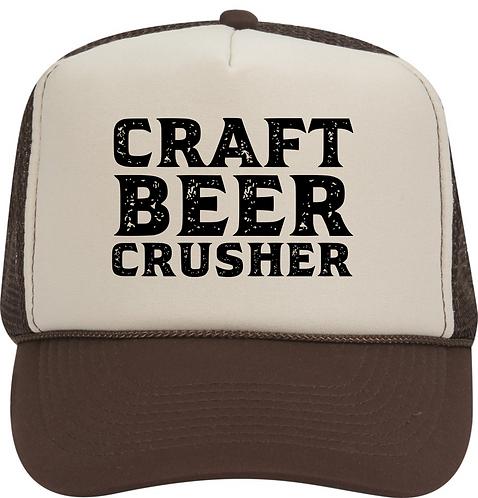Craft Beer Crusher Trucker Hat
