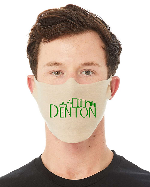 Denton Skyline Face Mask