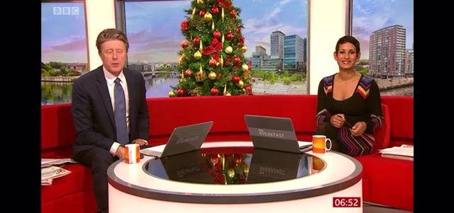 Comfort & Joy on BBC News