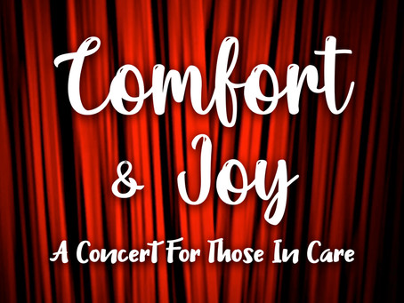 Musical Theatre performers bring Comfort & Joy to those in care despite Covid-19.