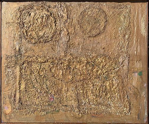 """(#2134) """"Bronze Wall"""" by Sylvia Rutkoff"""