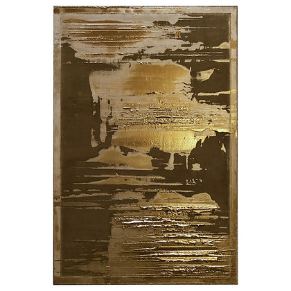 """(#1837) Bronze Painting """"129"""" by Pierre Bonnefille"""