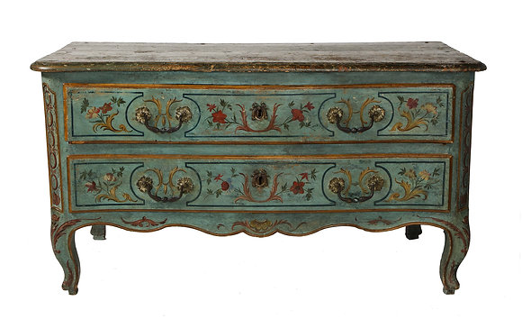 (#1959) Northern Italian Painted Commode