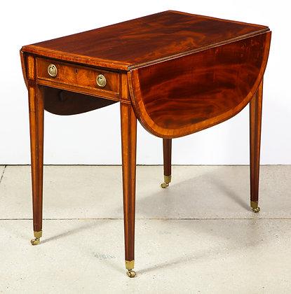 (#1714) A Sheraton Pembroke Table