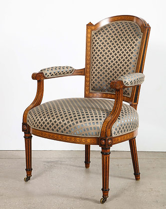 (#2064) English Georgian Desk Chair