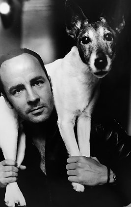 (#1351) Tom Ford Dog, For Vogue, 1999, Helmut Newton