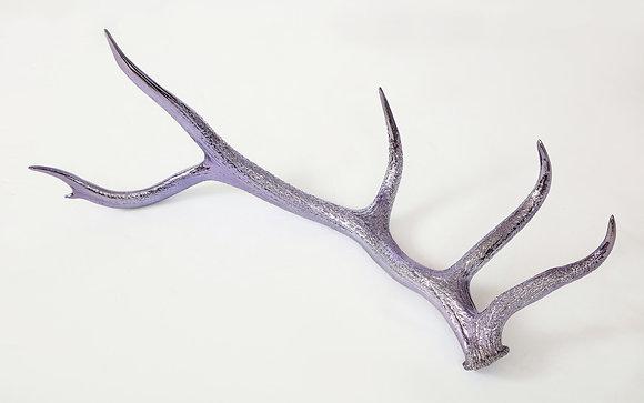 (#2012) Purple Chromed Elk Antler Shed