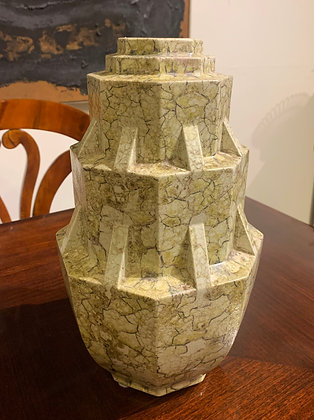 (#1104) Important French Art Deco Vase by Mougin Freres