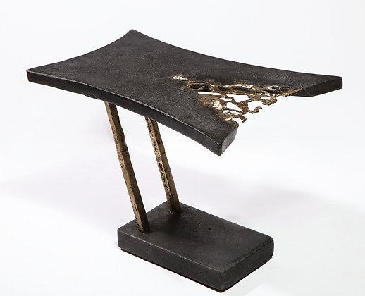 (#1904) Unique End Table, by Silas Seandel