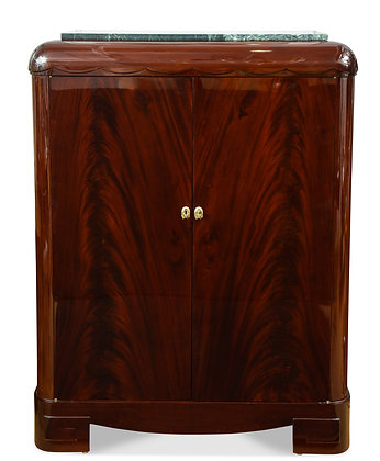 (#1548) An Important Mahogany Cabinet, by Sue et Mare