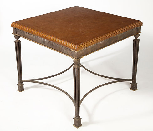 (#1990) French Art Deco Iron Table