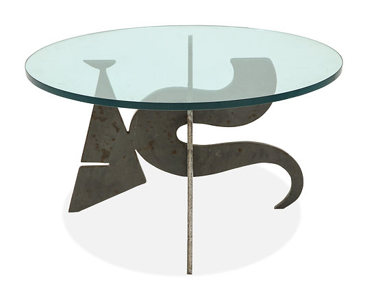 (#1018) Bronze Coffee Table, By Puccie De Rossi