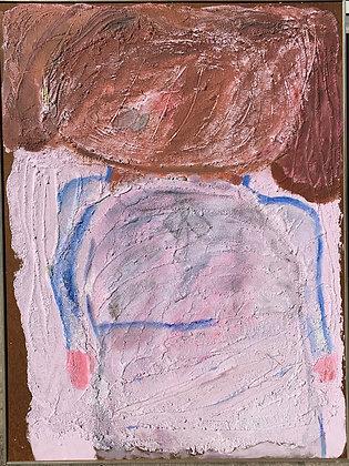 "(#2131) ""The School Girl"" by Sylvia Rutkoff"