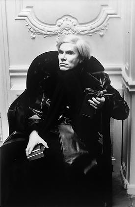 (#1322) Andy Warhol, Paris, 1975 Helmut Newton