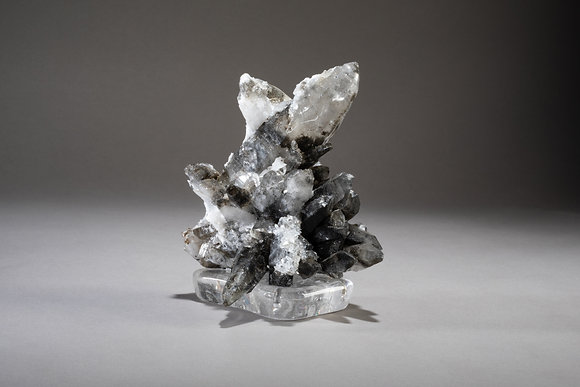 (#1865) Smoky Quartz on Crystal Base