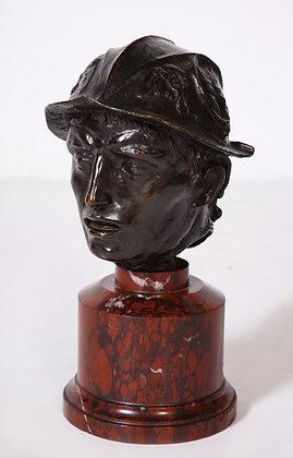 (#2077) Bronze Bust of Perseus