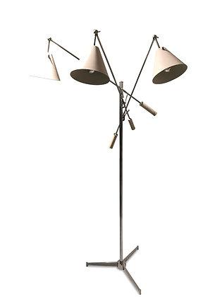(#1256) Angelo Lelli Triennial Floor Lamp