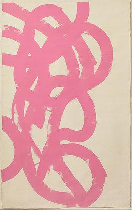 """(#2138) """"Pink Abstract"""" by Sylvia Rutkoff"""