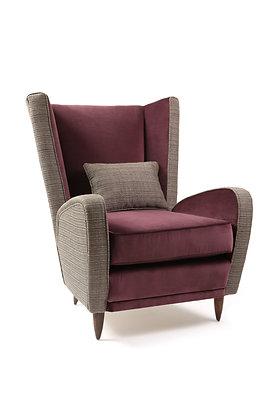 (#1825) Mid-Century Italian Arm Chair
