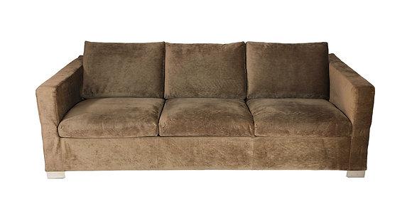 (#1259) Minotti Three-Seat Sleeper Sofa