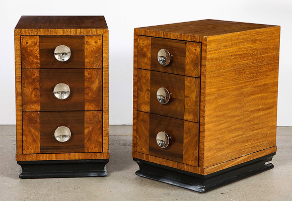 (#2107) Pair of Gilbert Rohde Night-stands