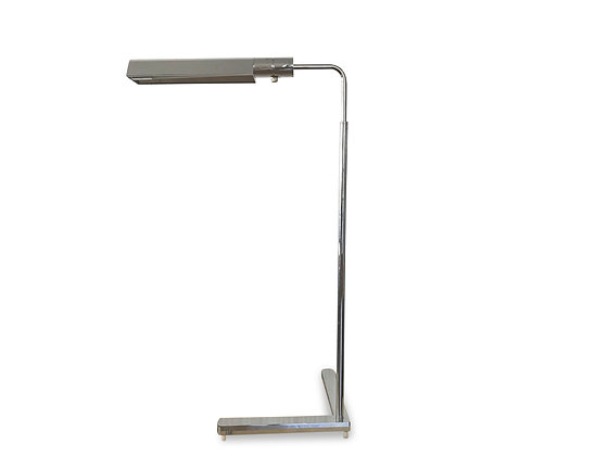 (#1246) Chrome Standing/Reading Lamp, by Casella