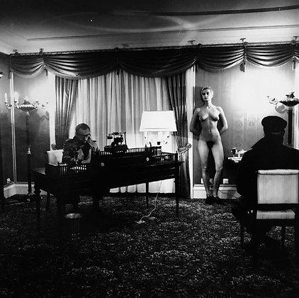 """(#1926) """"Voyeurism in LA"""" by Helmut Newton"""