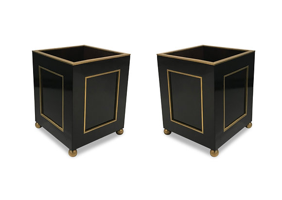 (#1040) Pair of Directoire Style Planters