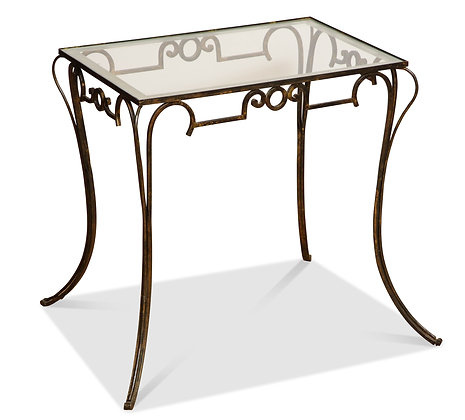 (#1498) French Gilt Iron Table