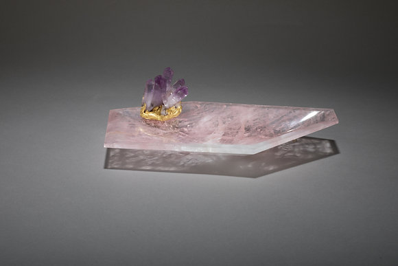 "(#1846) Crystal ""Bling Bowl 4"" by Studio Greytak"