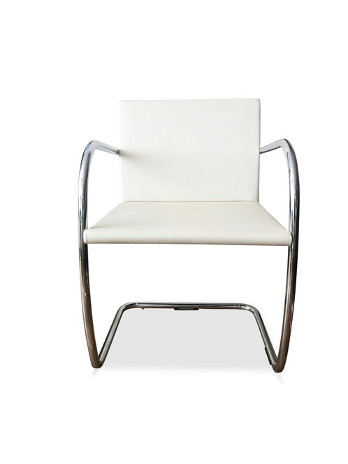 1249 Mies Van Der Rohe For Knoll Tubular Brno Chairs X 5