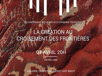 Conférence aux Jeudis de la Sorbonne