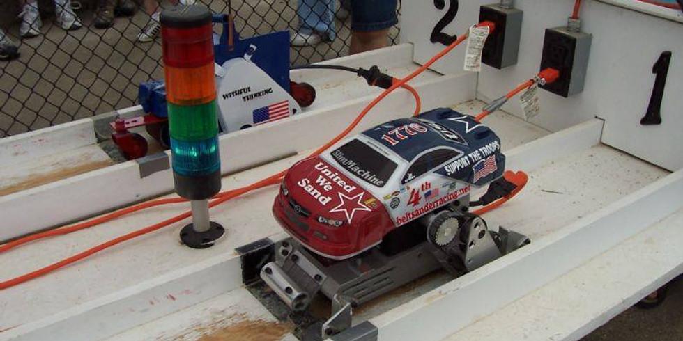 Belt Sander Drag Racing