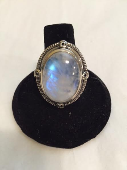 Large Oval Moonstone